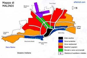 Malindi Map